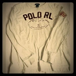 Vintage Polo Ralph Lauren Embroidered Spellout
